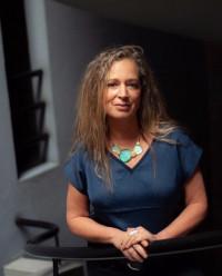 La curadora Carolina Ponce de León. ©Pablo Salgado.
